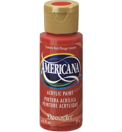 26125 Deco Art Americana 59 ML Acrylverf Tomato Red (DA169).