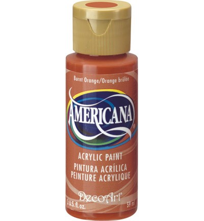 26168 Americana Acrylverf 59 ML Burnt Orange (DA016).