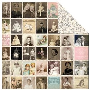 26351 Melissa Frances True Double Sided Paper Adopted Ancestors.