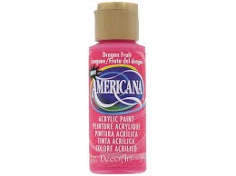 26397 Deco Art Americana Acrylverf 59 ML Dragon Fruit (DA300).