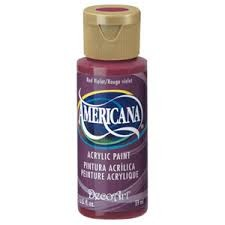 26483 Deco Art Americana Acrylverf 59 ML Red Violet.