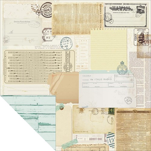 26611 Kaisercraft Telegraph Road 2-Sided Paper Memo.