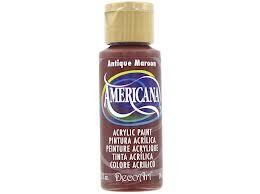 26755 Deco Art Americana Acrylverf 59 ML Antique Maroon (DA160).