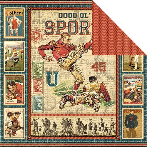 26891 Graphic 45 Good Ol` Sport Collection Good Ol` Sport.