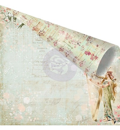 27065 Prima Marketing Princess Collection Double Sided Paper-Ava.