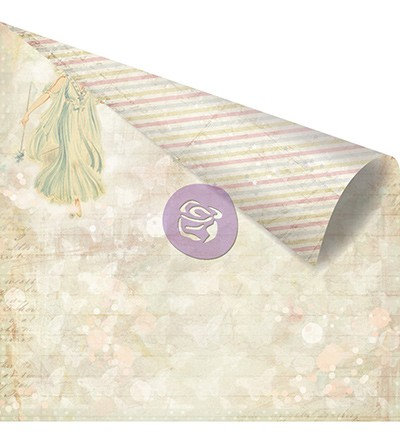 27066 Prima Marketing Princess Collection Double Sided Paper-Charlotte.