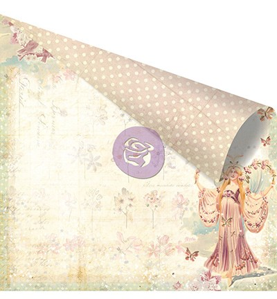 27071 Prima Marketing Princess Collection Double Sided Paper-Sophia.