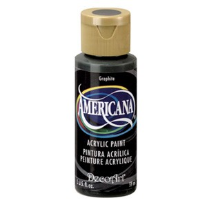 27290 Deco Art Americana Acrylverf 59 ML Graphite.