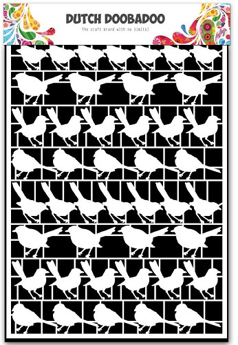 27389 Dutch Doobadoo Dutch Paper Art Vogels - A5.
