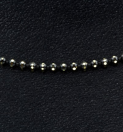 27421 Jewelry Chain Black 1,5mm x 1mtr (12295-9501).