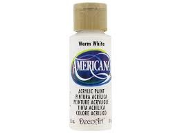 27845 Deco Art Americana Acrylverf 59 ml Warm White (DA239).