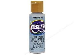 27847 Deco Art Americana Acrylverf 59 ml Winter Blue (DA190).