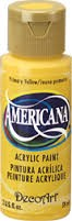 28003 Deco Art Acrylverf Americana 59 ML Primary Yellow (DA201).
