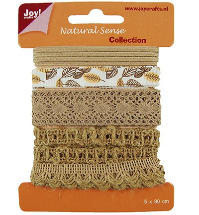 28125 Joy Crafts Ribbons Natural sense - Ribbons set 2 (6300/0322).