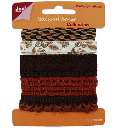 28126 Joy Crafts Ribbons Natural sense - Ribbons set 4 (6300/0323).