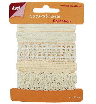 28127 Joy Crafts Ribbons Natural sense - Ribbons set 5 (6300/0324).