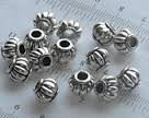28489 Spacertjes/Metalen Kralen 25 stuks 5mm.