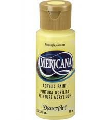 28711 Deco Art Americana Acrylverf 59 ML Pineapple (DA06).