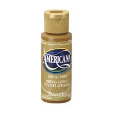 28888 Deco Art Americana Acrylverf 59 ML Raw Sienna (DA093).