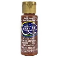 28889 Deco Art Americana Acrylverf 59 ML Burnt Sienna (DA063).