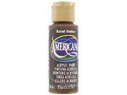 28890 Deco Art Americana Acrylverf 59 ML Burnt Umber (DA064).