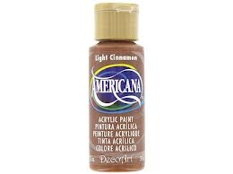 29160 Decoart Americana Acrylverf 59 ML Light Cinnamon (DA114).
