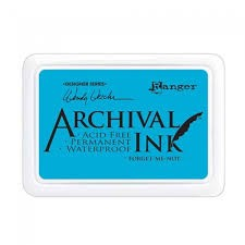 29297 Archival Waterproof Inkt Forget-Me-Not.