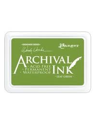 29302 Archival Waterproof Inkt Leaf Green.