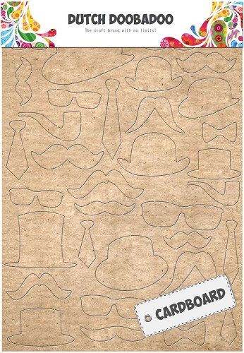 29524 Dutch Doobadoo Dutch Cardboard Art Snorren A5.