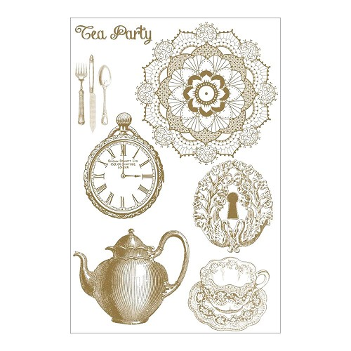 29969 Marion Smith Designs Mad Tea Party Clear Stamps 10,5x15 cm.