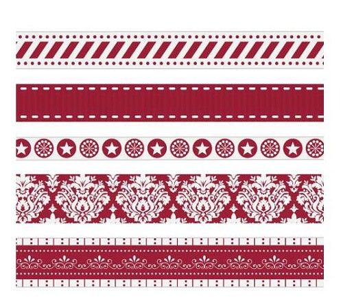 29975 Xmas Ribbonz 5 Meters (5.47 Yards).
