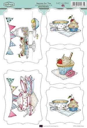 30092 Uitdrukvel Daisy May Draws Anyone for Tea.