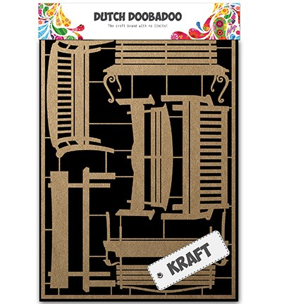 30119 Dutch Doobadoo Dutch Craft Art Benches.