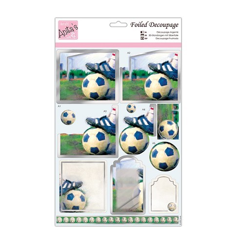 30164 A4 Die-cut toppers - Football.