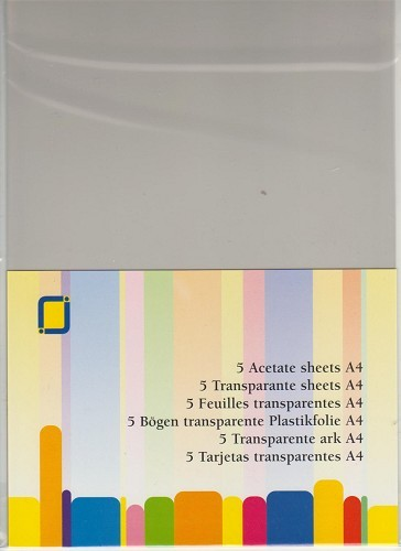 30444 Transparante Sheets Heat Resist A4 10 Vel (3.1030).
