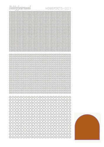 30749 Hobbydots Serie 007 Mirror Brown.