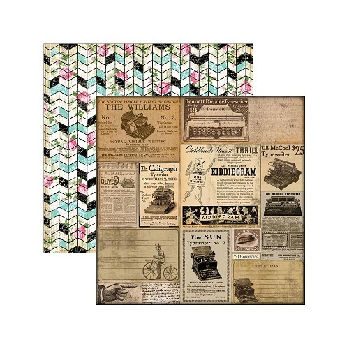 31177 Marion Smith Designs Romance Novel Chapter 2 Double-Sided Paper Telegram.