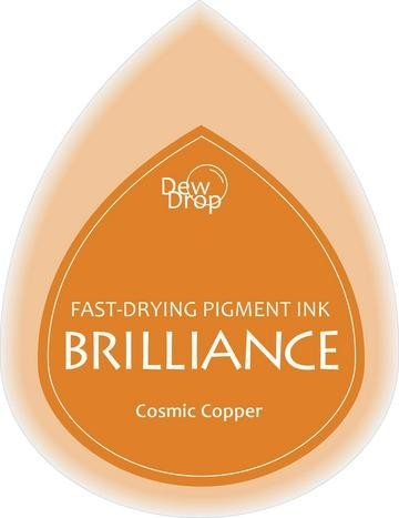 31356 Dew Drops Brilliance Inkpad Cosmic Copper.