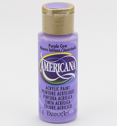 31414 Deco Art Americana Acrylverf 59 ML Purple Cow (DA272).