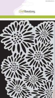 31736 Craft Emotions Mask Stencil Botanical Summer - Bloemen A5.