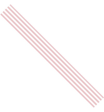 31777 Rosa Dotje Old Cotton - Ribbon Stripes Rose 15 mm x 3,05 Meter.