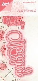 31905 Joy Crafts Cutting & Embossing Mal Wedding (6002/0395).