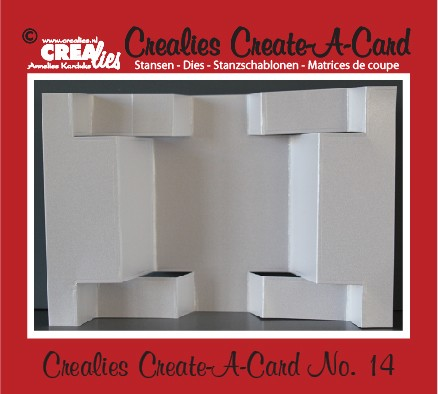 32180 Crealies Create A Card no. 14 Stans voor Kaart (CCAC14).