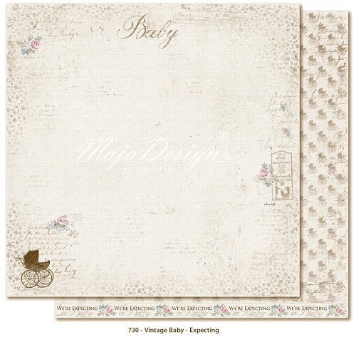 32743 Maja Design Vintage baby Expecting.