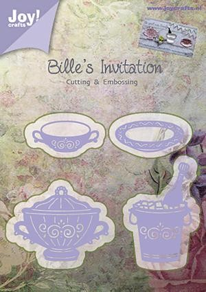 32770 Superkoopje Joy Crafts Cutting & Embossing Bille Wijnkoeler enz (6002/0373).