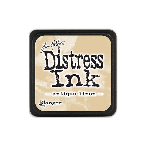 32917 Tim Holtz Distress Mini Ink Pad Antique Linen.
