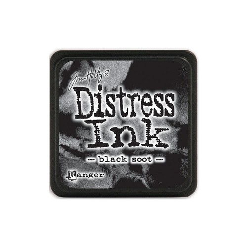 32919 Tim Holtz Distress Mini Ink Pad Black Soot.