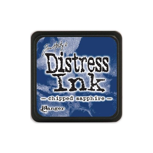 32923 Tim Holtz Distress Mini Ink Pad Chipped Sapphire.