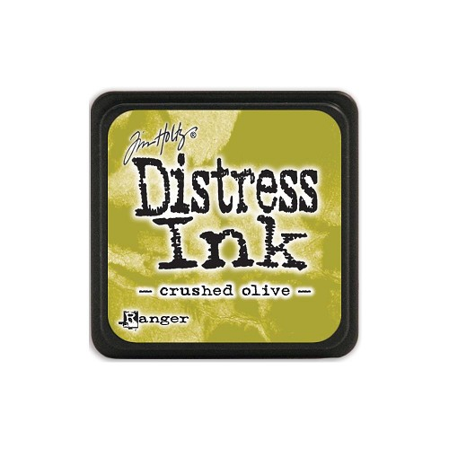 32924 Tim Holtz Distress Mini Ink Pad Crushed Olive.