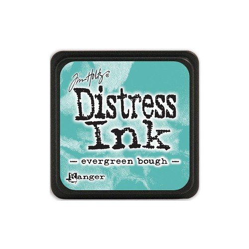 32927 Tim Holtz Distress Mini Ink Pad Evergreen Bough.